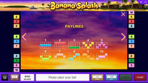 Игровой автомат Banana Splash - побеждай на сайт казино Вулкан Платинум