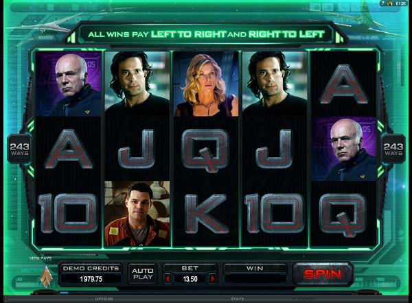 Игровой автомат Battlestar Galactica - играй и выиграй в казино Русский Вулкан