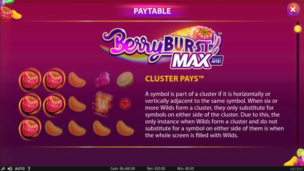 Игровой автомат Berryburst Max - играть в слоты на сайте Мармелад казино онлайн