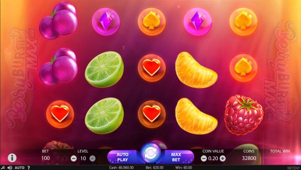 Игровой автомат Berryburst Max - играть на казино Мармелад официальный сайт