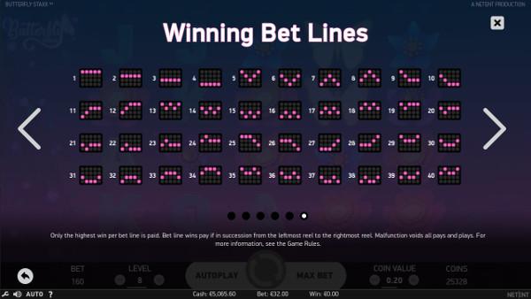 Игровой автомат Butterfly Staxx - скачать мобильная версия казино и побеждай