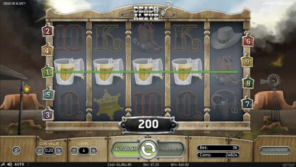 Игровой автомат Dead or Alive - крупные победы ждут вас в Фараон казино онлайн
