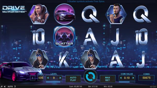 Игровой автомат Drive: Multiplier Mayhem - в казино Х играть бесплатно онлайн