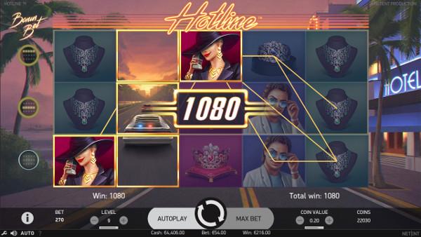 Игровой автомат Hotline - поймай удачу каждый день в онлайн казино Франк