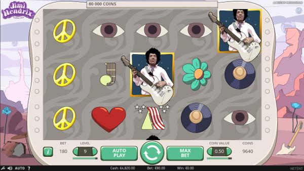 Игровой автомат Jimi Hendrix - играй онлайн в любое время в казино Вулкан ВИП