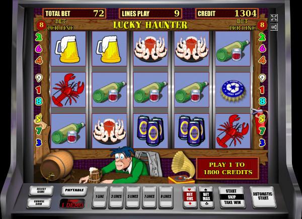 Игровой автомат Lucky Haunter - в Азино777 казино играть в аппараты Igrosoft