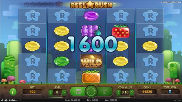 Игровой автомат Reel Rush - выиграй крупно в казино Колумбус