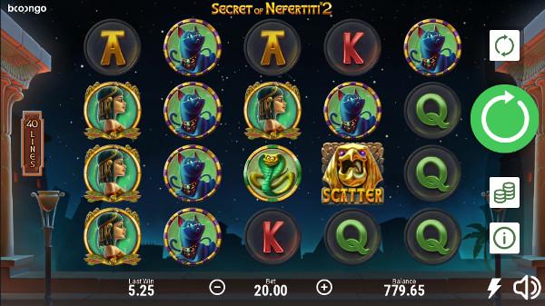 Игровой автомат Secret of Nefertiti 2 - сорви джекпот в онлайн казино Вулкан Россия