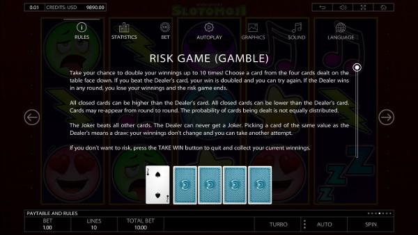 Игровой автомат Slotomoji - играть в казино Вулкан 24 онлайн