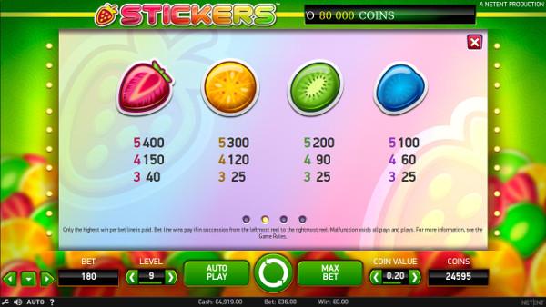 Игровой автомат Stickers - в лучшие слоты играй в казино Пари Матч