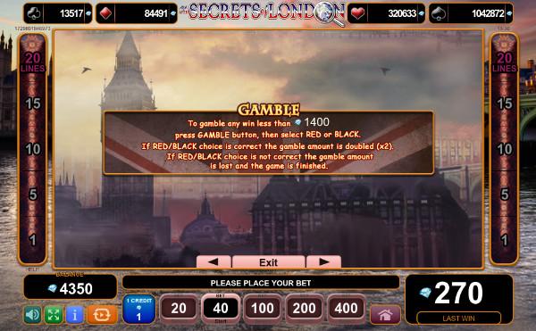 Игровой автомат The Secrets of London - попробуй аппарат бесплатно в казино Спин Сити