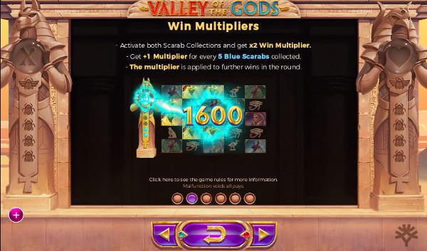 Игровой автомат Valley of The Gods - в казино Вулкан Платинум сорви куш