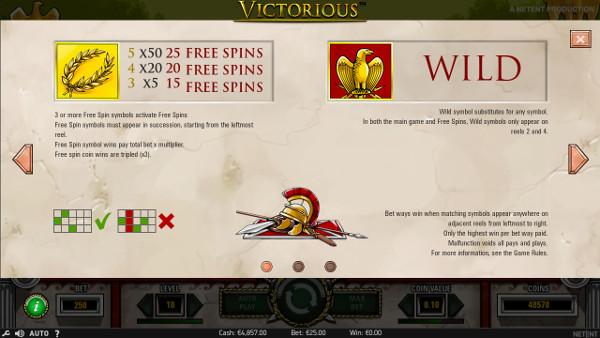 Игровой автомат Victorious - играть в слоты НетЕнт в Фреш казино онлайн