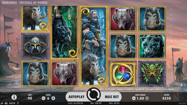 Игровой автомат Warlords: Crystals of Power - играй бесплатно в Вулкан Престиж казино