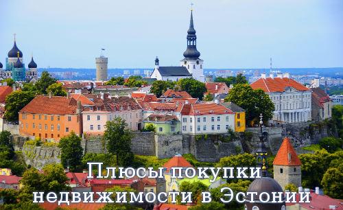 Плюсы покупки недвижимости в Эстонии