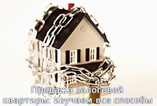 Продажа залоговой квартиры: изучаем все способы