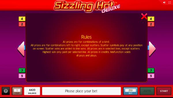 В щедром автомате Sizzling Hot Deluxe выиграй в казино Вулкан Делюкс официальный сайт